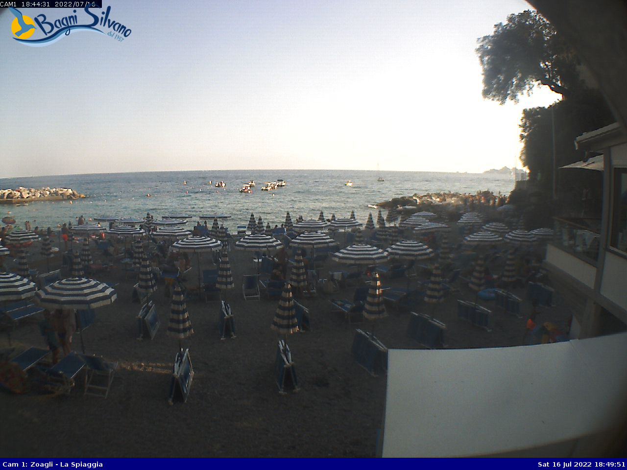 Webcam di Zoagli